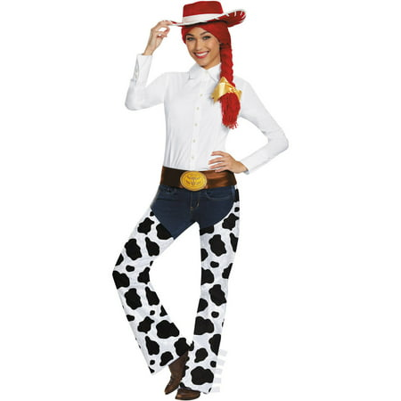 Deluxe Exclusive Jessie Kit Adult Halloween Accessory](Jessie Toy Story Costume Adults)