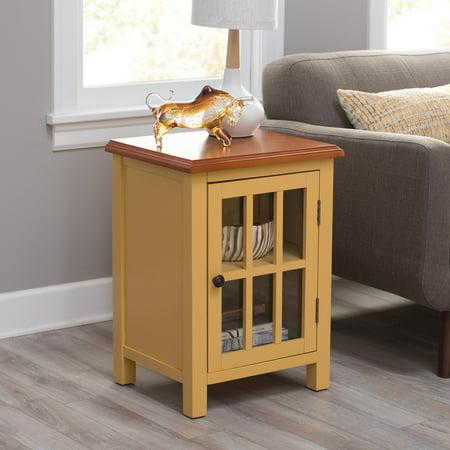 Belham Living Hawthorne 1-Door Accent Cabinet - Yellow ()