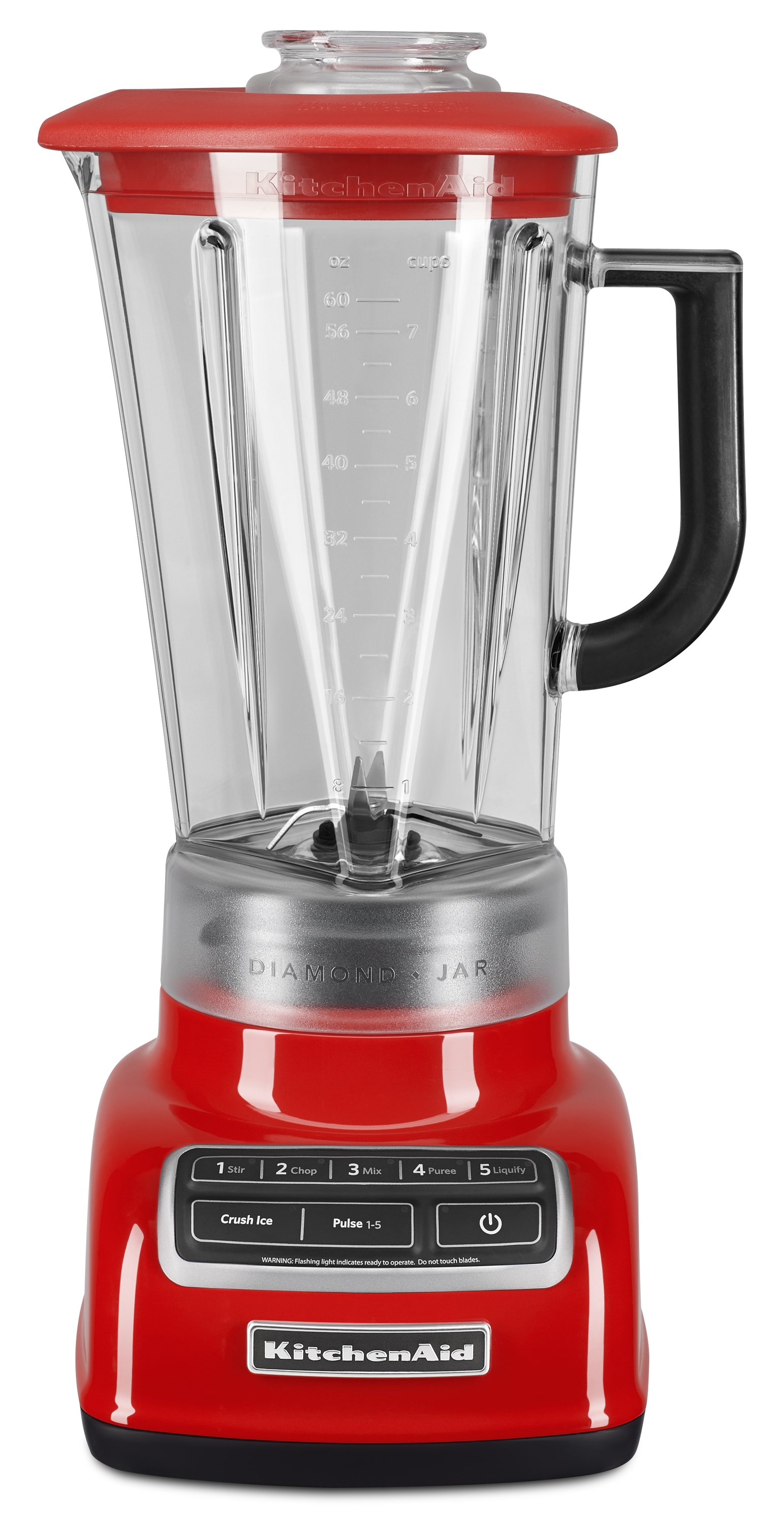 KitchenAid® 5-Speed Diamond Blender, Hot Sauce (KSB1575HT) - Walmart.com