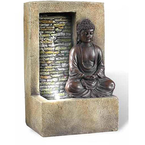 "Ore International Inc. 10"" Buddha Table Top Fountain by ORE INTERNATIONAL INC"