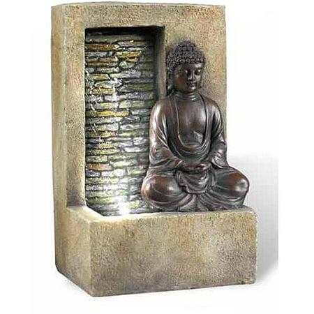 Ore international inc 10 buddha table top fountain for Table decor international inc