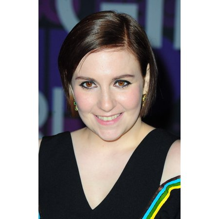 Lena Dunham At Arrivals For Girls Fourth Season Premiere On Hbo Rolled Canvas Art     8 X 10
