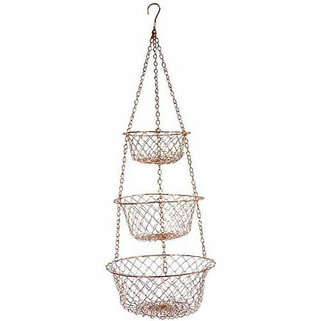 Fox Run 5211 Copper Hanging Baskets - Hanging Basket Collection