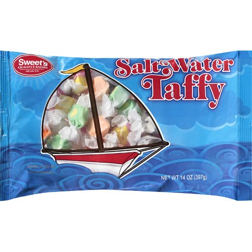 Sweet's: Salt Water Taffy Quality Candies, 14 Oz