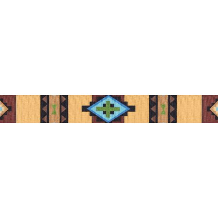 - Country Brook Design® 1 1/2 Inch Native Arizona Polyester Webbing
