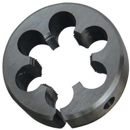 Westward 10T729 5 16 High Speed Steel Round Adjustable Die