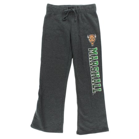 Stadium Thunder (Stadium Womens Thundering Herd College Side Screen Print Pants Grey)