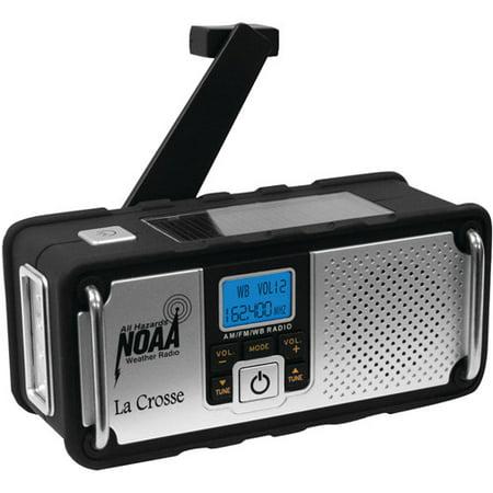 La Crosse Technology Noaa Solar Weather Radio