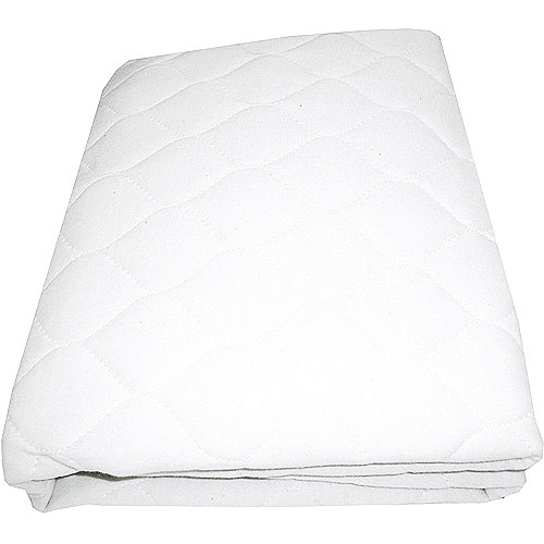 tl care inc organic quilted porta crib mattress pad walmart