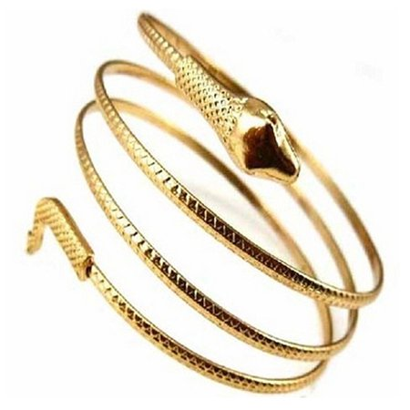 Moderna Punk Fashion Coiled Snake Spiral Upper Arm Cuff Armlet Armband Bangle Bracelet