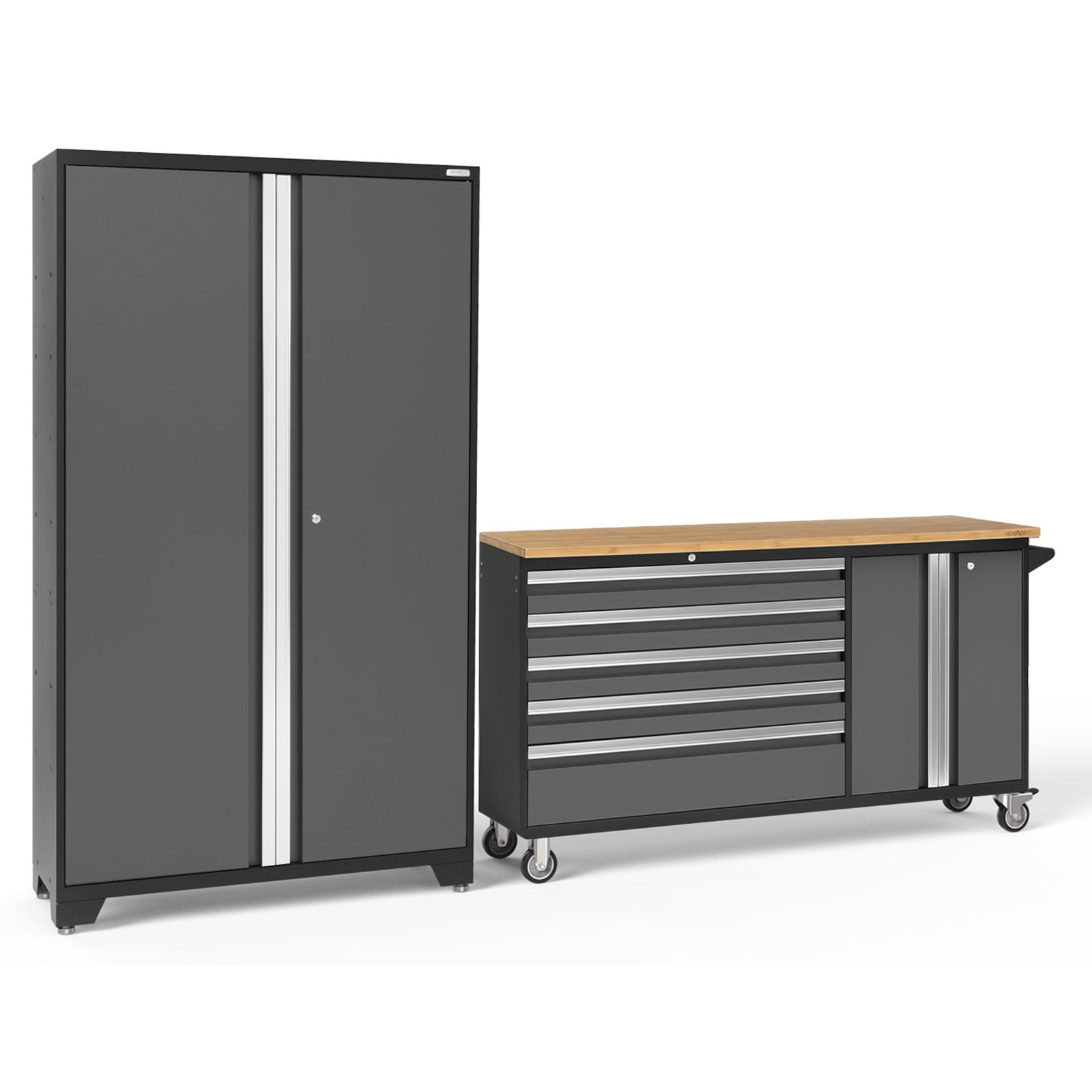 NewAge Products Bold 3.0 2 Piece Garage Cabinet System