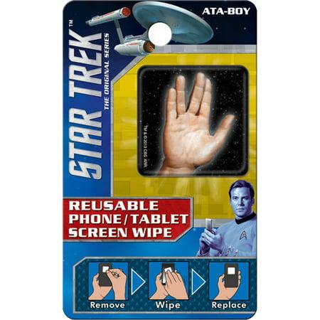 Star Trek Spock Hand Reusable Phone Tablet Screen Wipe