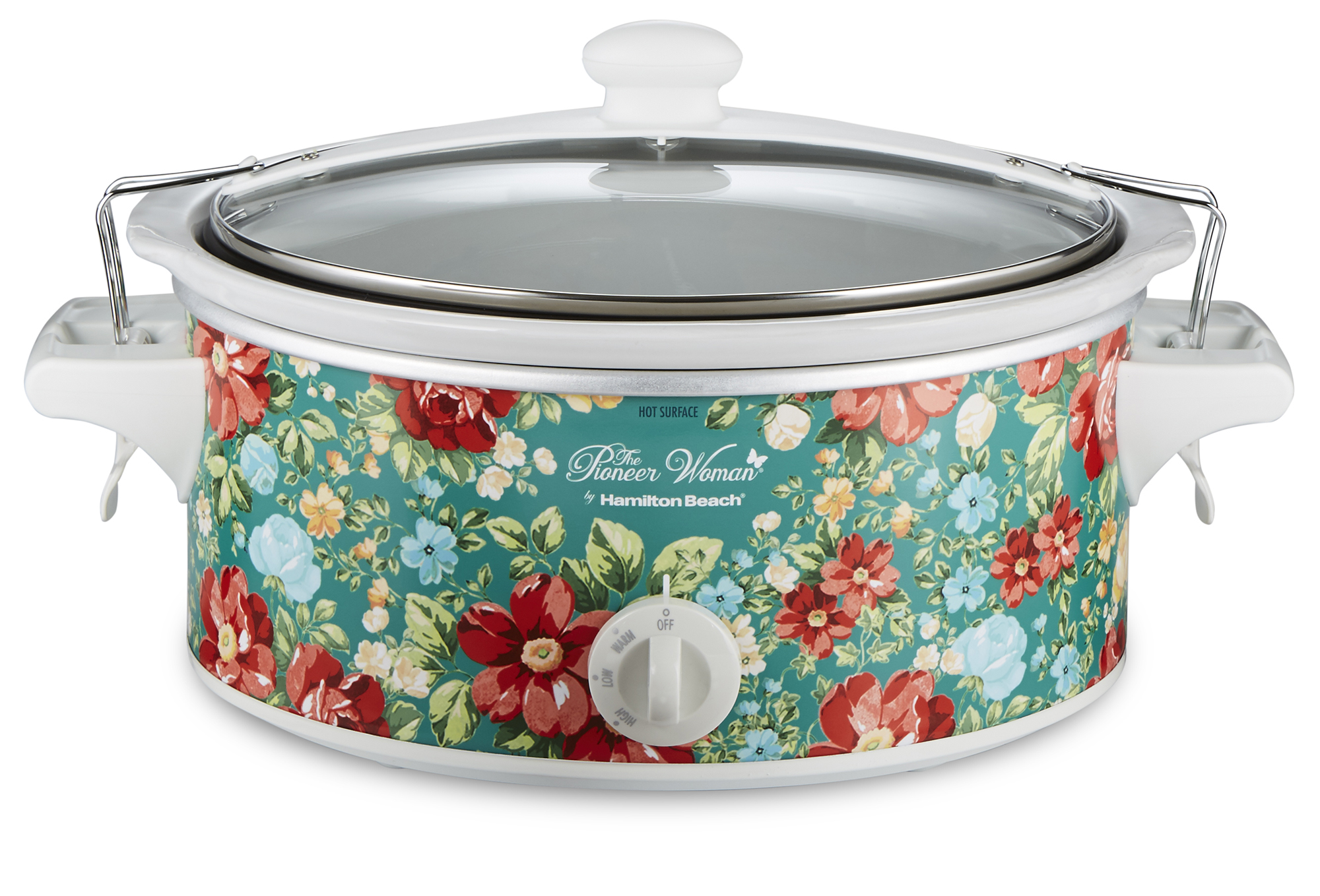 Pioneer Woman 6 Quart Portable Slow Cooker Vintage Floral | Model ...