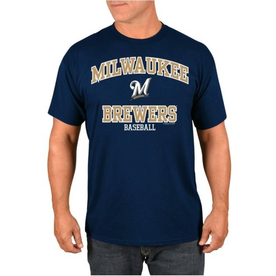 MLB Milwaukee Brewers Men's High Praise T-Shirt