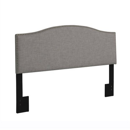 Better Homes and Gardens Grayson Full/Queen Linen Upholstered Headboard with Nailheads, Multiple Colors