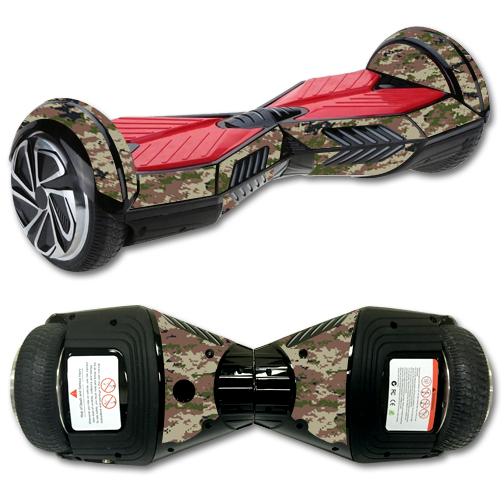 MightySkins Protective Vinyl Skin Decal for Board Balance Board Scooter 2 wrap cover sticker skins Urban Camo