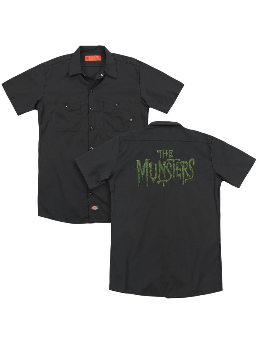 The Munsters Blocks Adult Work Shirt