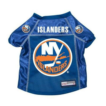 New York Islanders Dog Pet Premium Hockey Jersey XS