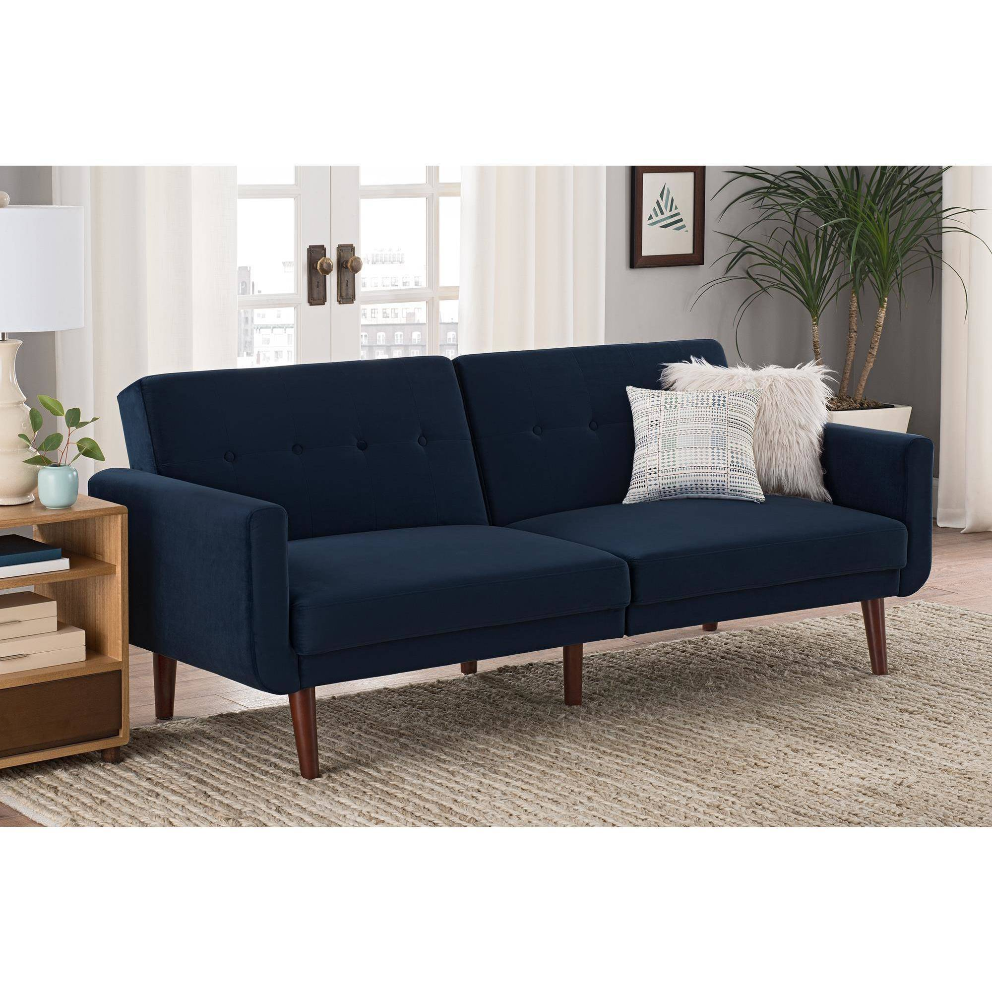 Better Homes And Gardens Nola Modern Futon Multiple Colors Com
