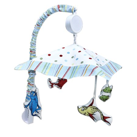 Trend-Lab Musical Mobile - Dr. Seuss One Fish Two - Fish Mobile