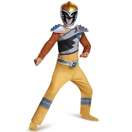 Gold Ranger Dino Charge Classic Child Costume