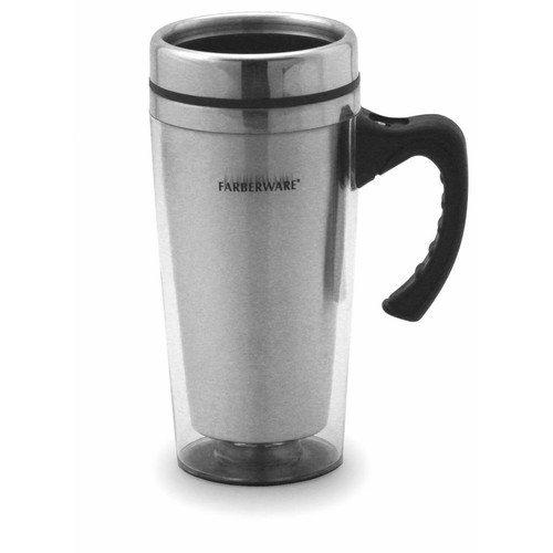 Farberware Travel Mug in Clear (Set of 2)