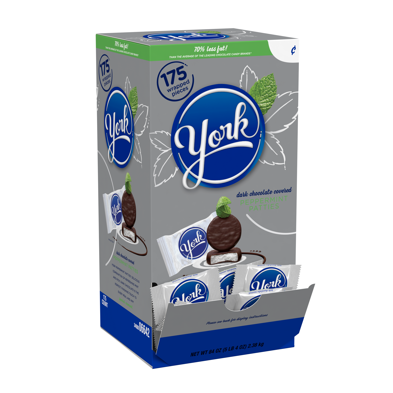 York Dark Chocolate Covered Peppermint Patties, 5.4 lbs
