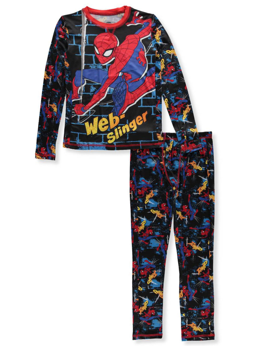Spider-Man Boys' 2-Piece Long Underwear Set