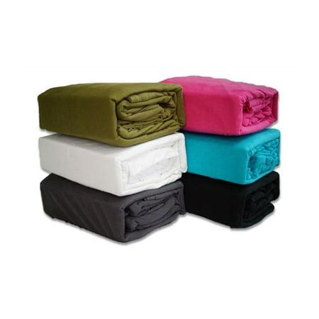 Jersey Knit Twin XL Bedding Sheets Jersey Knit Body