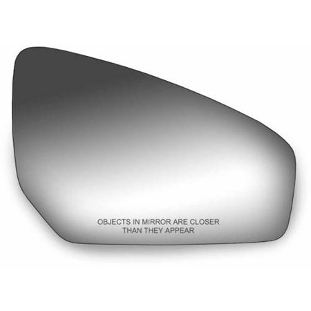 90234 - Fit System Passenger Side Mirror Glass, Nissan Sentra 07-12 - Nissan Sentra Door Mirror
