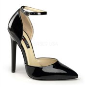 "SEXY-21, 5"" Stiletto Heel Ankle Strap D' Orsay Pump Shoes"