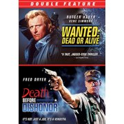 Wanted: Dead Or Alive / Death Before Dishoner (DVD)