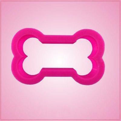 Pink Mini Dog Bone Cookie Cutter