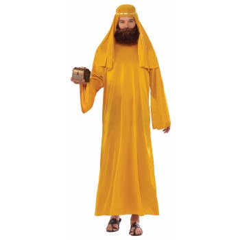CO-WISE MAN-XL-GOLD - Adult Nativity Costumes