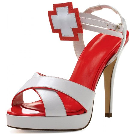Florence Adult Costume Shoes - Size (Halloween Shoes)