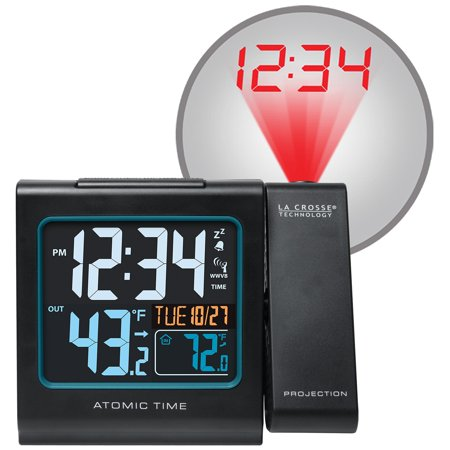 La Crosse Technology 616-146 Projection Alarm Clock with