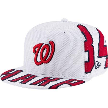 53ba9770a00 Bryce Harper Washington Nationals New Era Player Pick 9FIFTY Snapback  Adjustable Hat - White - OSFA - Walmart.com