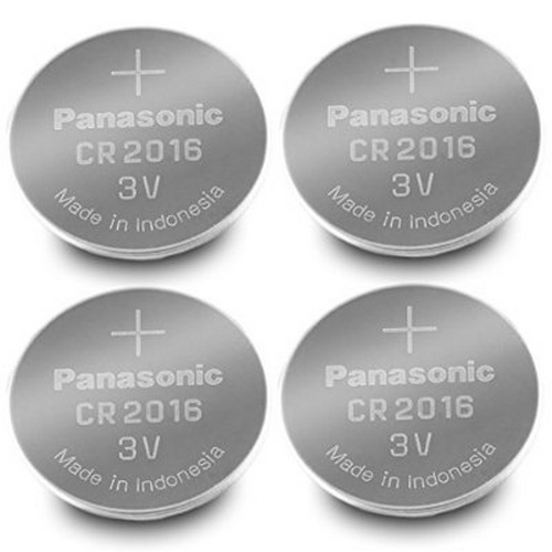4 Pcs -- Panasonic Cr2016 3v Lithium Coin Cell Battery Dl2016 Ecr2016 - Hassle Free Package