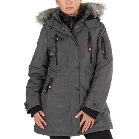 Canada Weather Gear Women's Insulated Parka