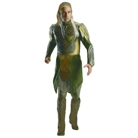 Adult Male Deluxe Legolas Greenleaf Hobbit 2 Decolation Of Smaug Costume by Rubies 884765 (Greenleaf Costumes)