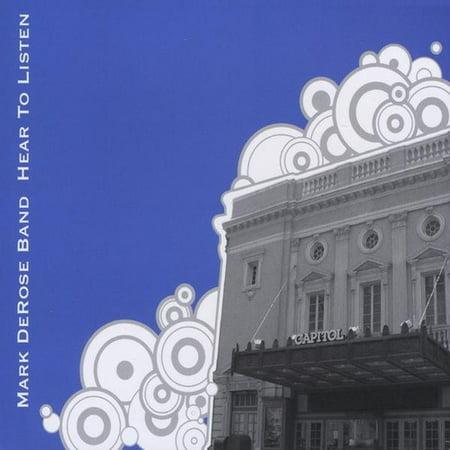 Mark Derose Band   Hear To Listen  Cd