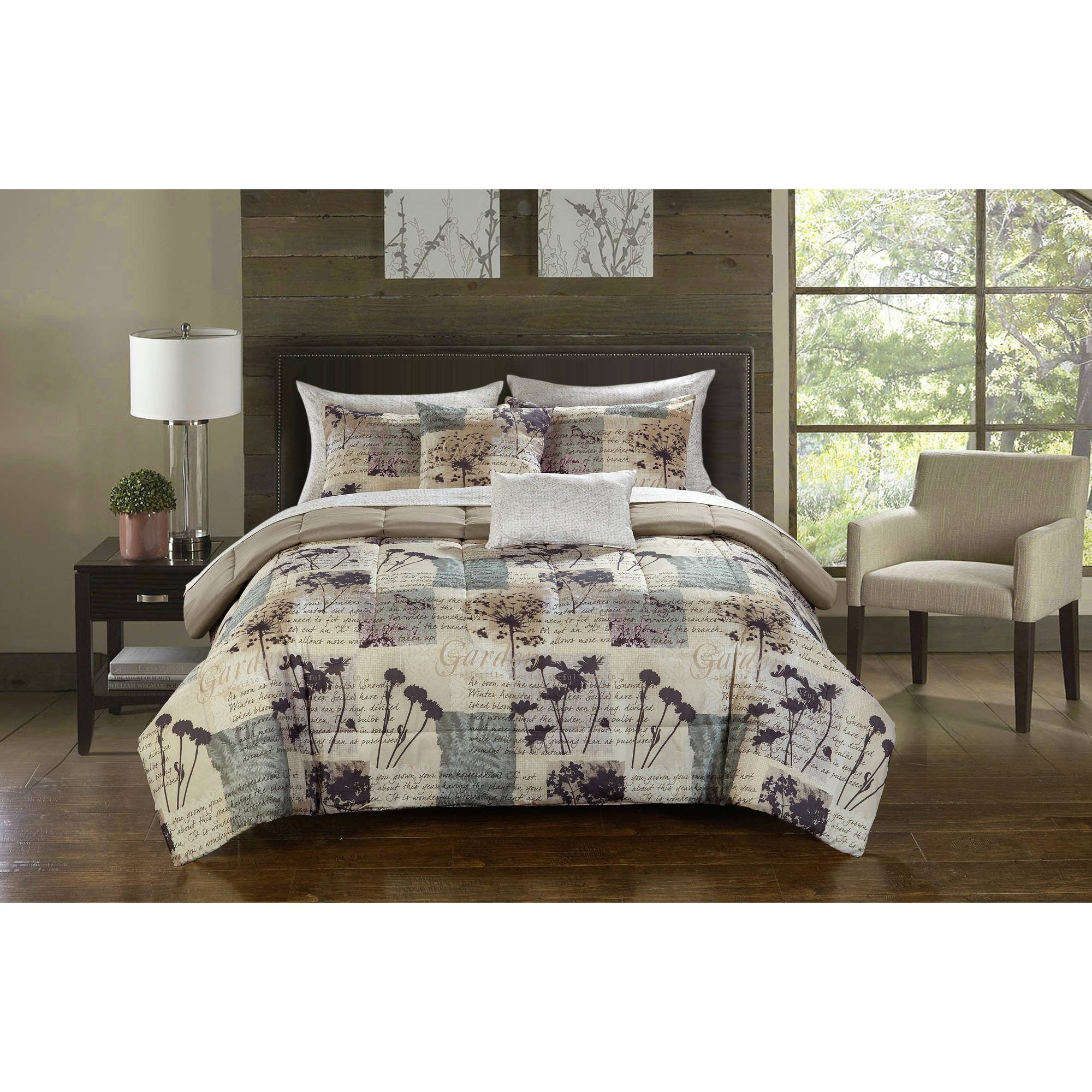 Casa Hanna Bed in a Bag Bedding Comforter Set