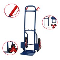Ktaxon 440lbs Heavy Duty Stair Climbing Moving Dolly Hand Truck