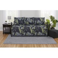 Mainstays Reversible Tropical Camo Bed in a Bag Bedding Set, Multiple Sizes