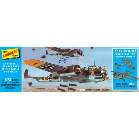 Wwii Gliders (Lindberg 414 1:72 Dornier Do17Z WWII German)