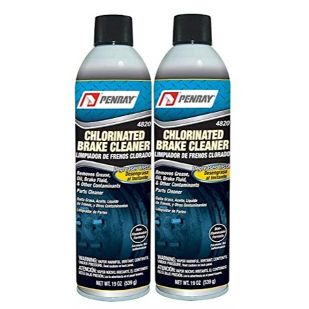 The Penray Companies Penray 4820 Chlorinated Brake Cleaner 19 Ounce Aerosol Can (2 Pack) Case 19 Ounce Aerosol