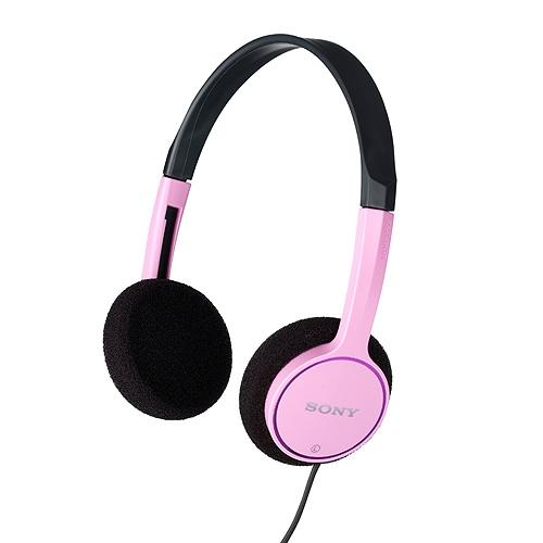 Sony MDR-222KDPIN Children's Headphones -Pink