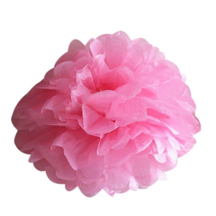 Mosunx 20pcs 10 Inch Tissue Paper Pom Flowers Balls Wedding Party Decor