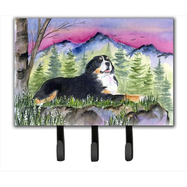 Carolines Treasures SS8332TH68 Bernese Mountain Dog Leash Holder Or Key Hook - image 1 de 1