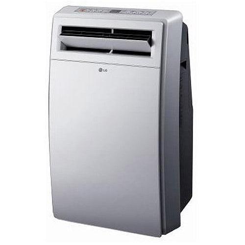 LG Electronics LP1200DXR 12,000-BTU Portable Air Conditioner and Dehumidifier Combo, White